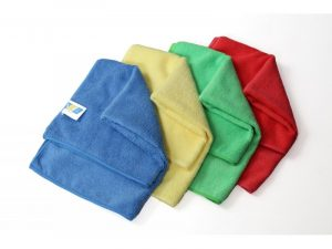 Microfiber cloth for surfaces